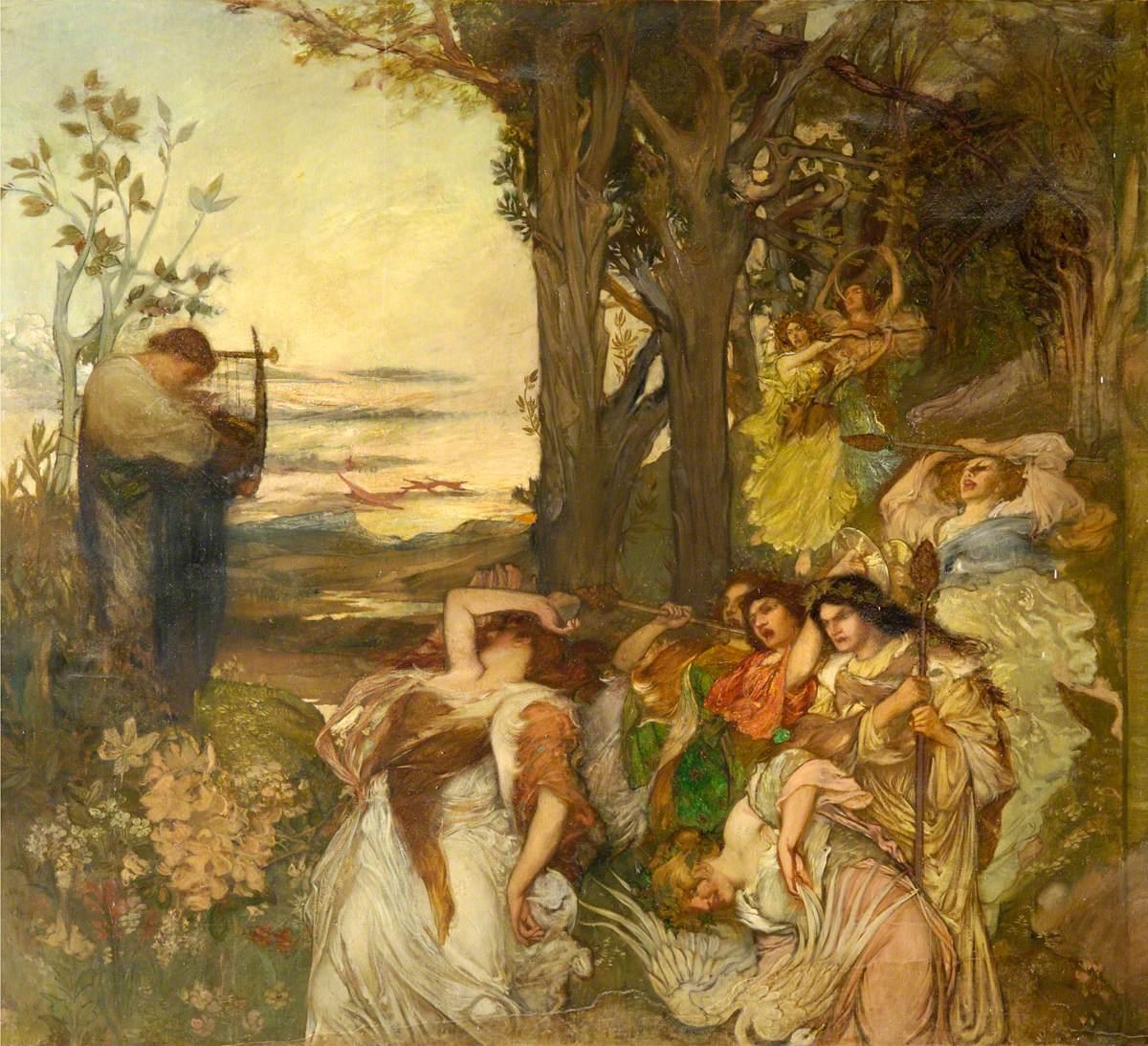 Bacchantes Overtaking Orpheus