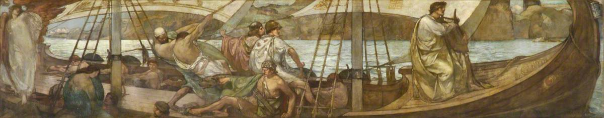 Orpheus in a Sailing Boat