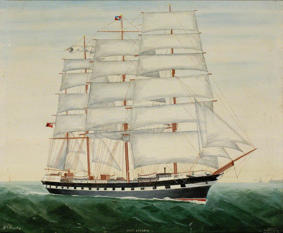 The Clipper 'Port Jackson'
