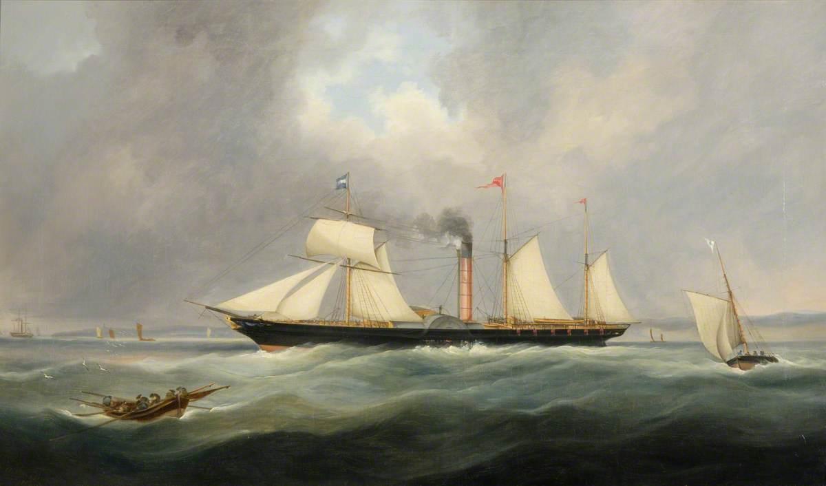 Ship 'The Queen'