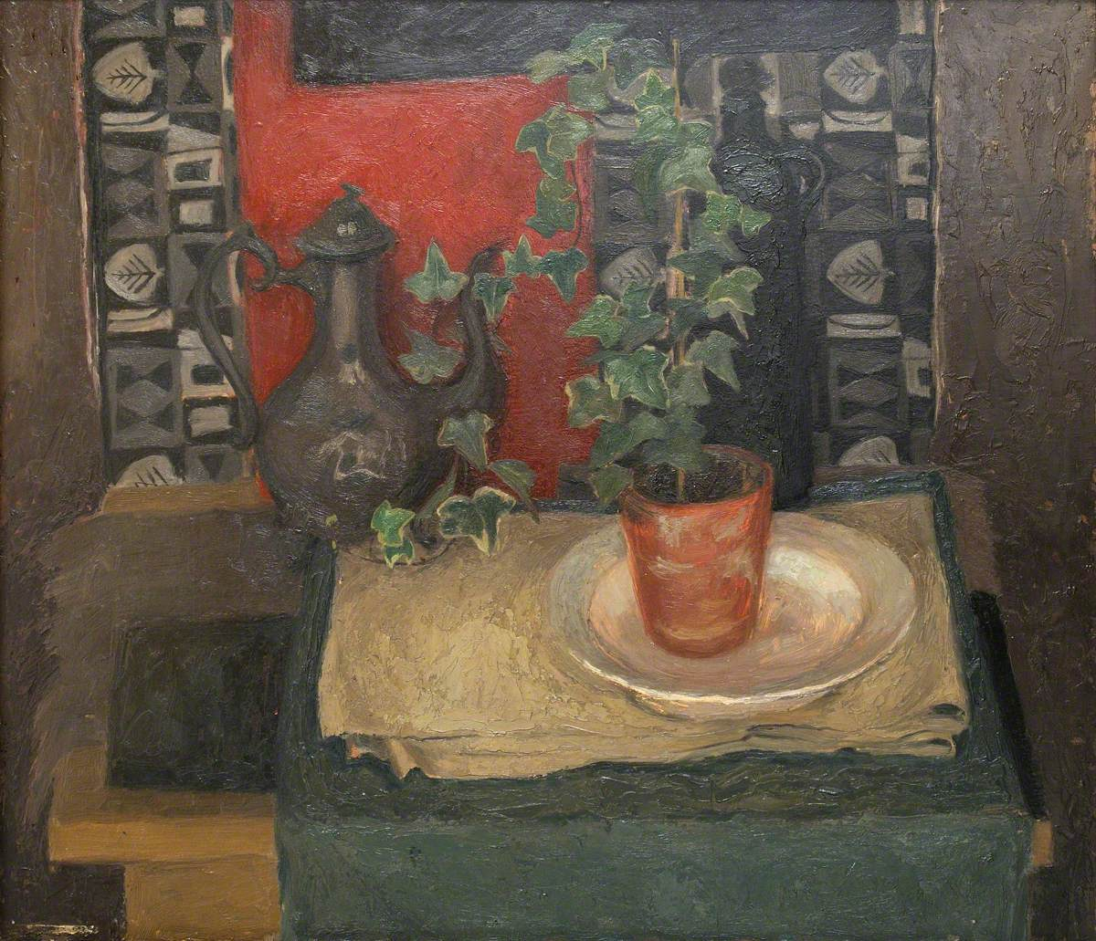 Still Life with Ivy