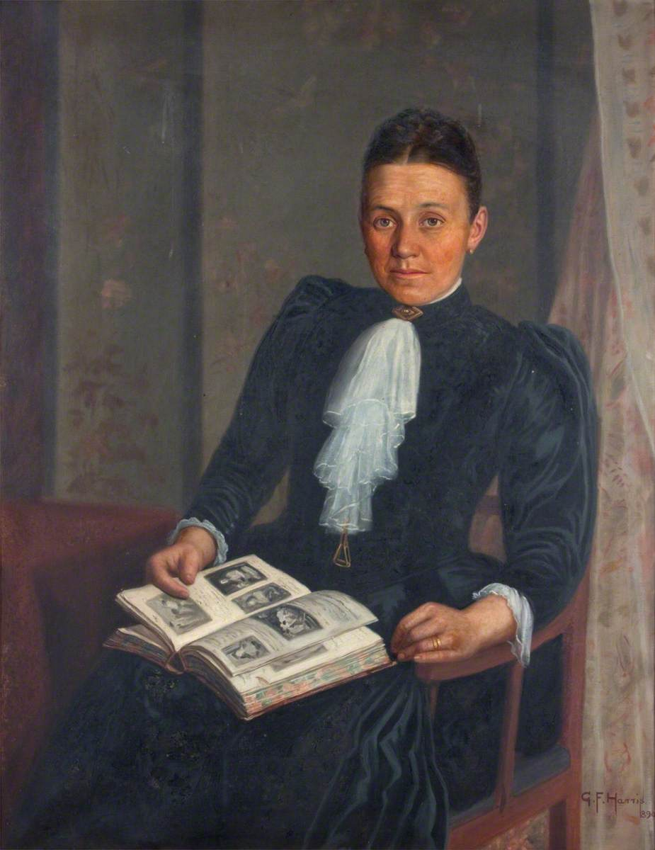 Mrs William Evans, Glyn Neath