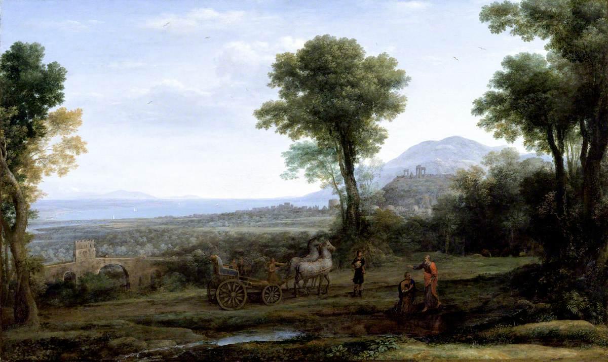 Landscape with Saint Philip Baptising the Eunuch