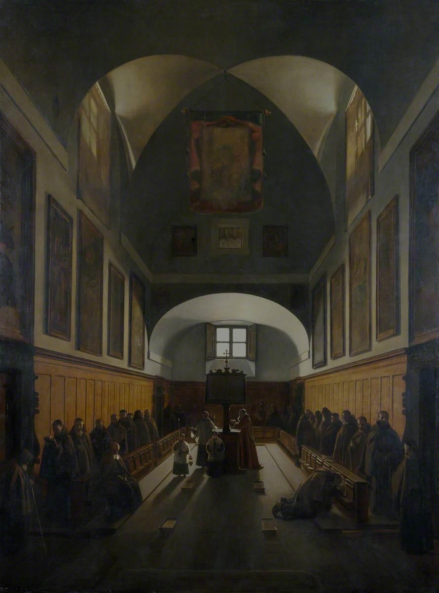 The Choir of the Capuchin Church, Rome