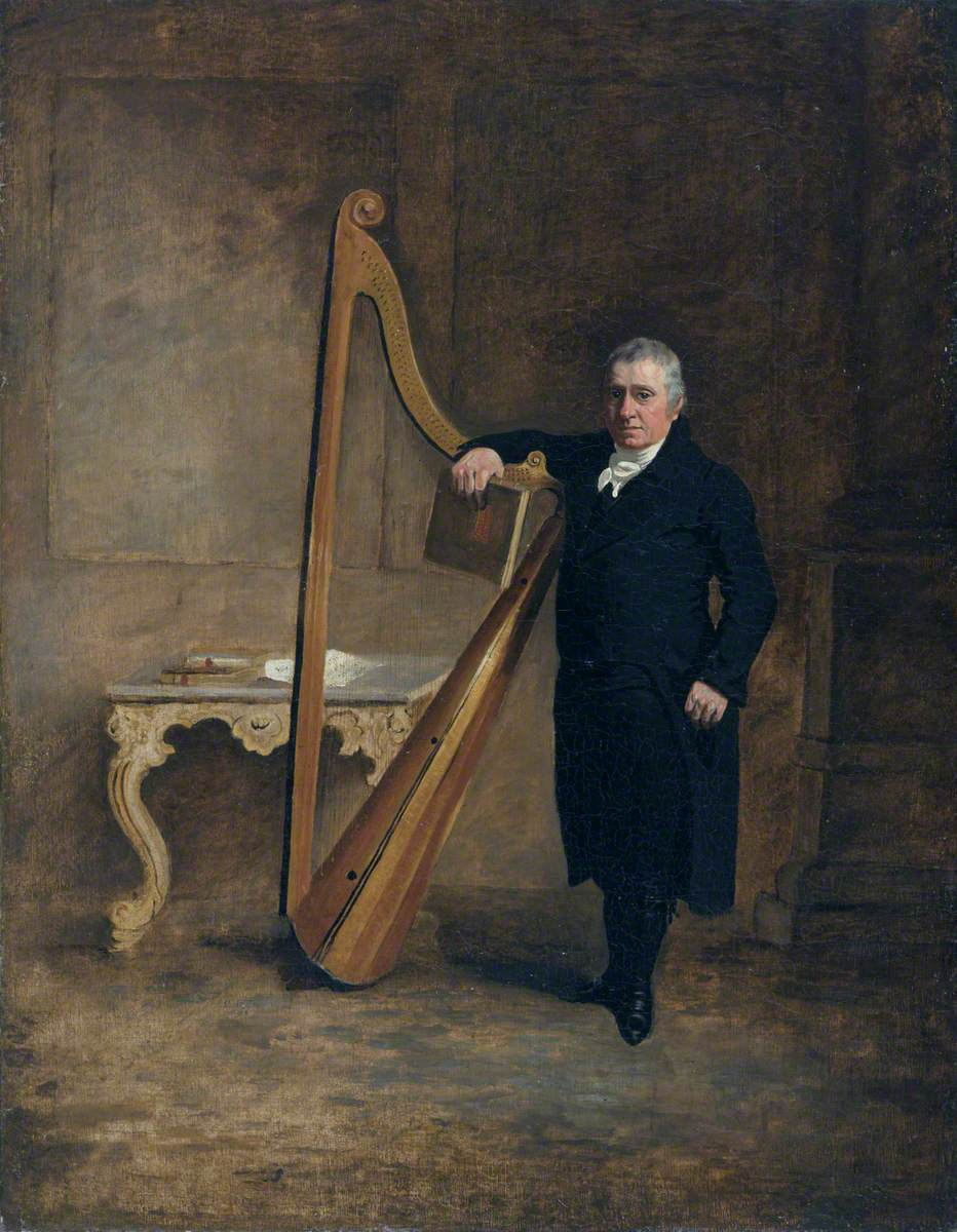 Griffith Owen (1750–1833), Harpist to the Corbet Family of Ynysymaengwyn