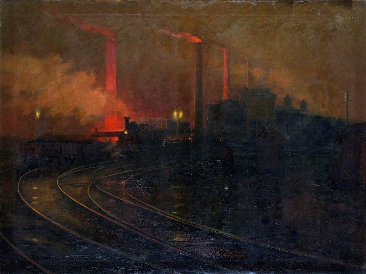 The Steelworks, Cardiff at Night