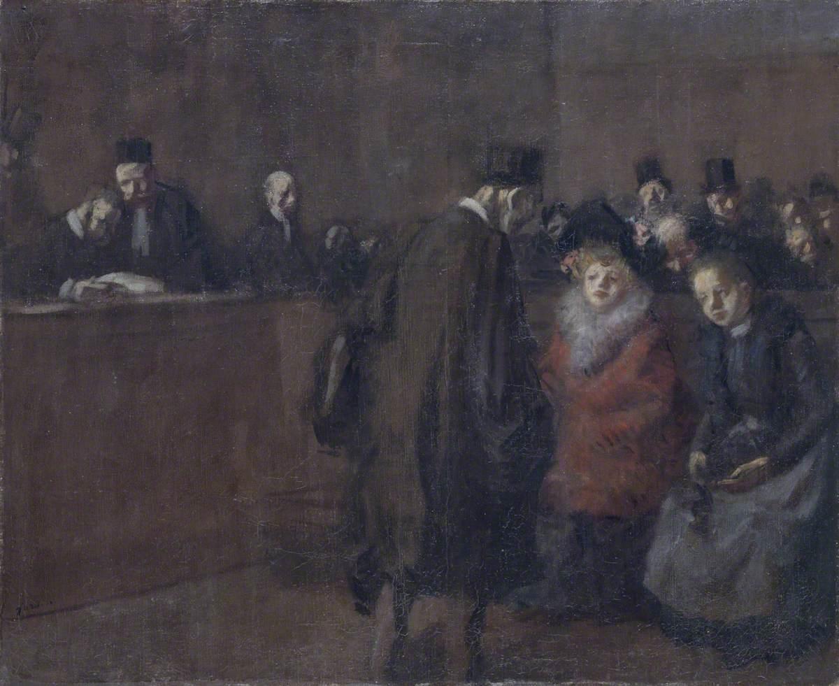 Scene de Tribunal