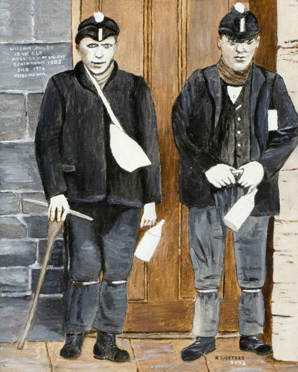 William Philby, First Day at Big Pit, 1903