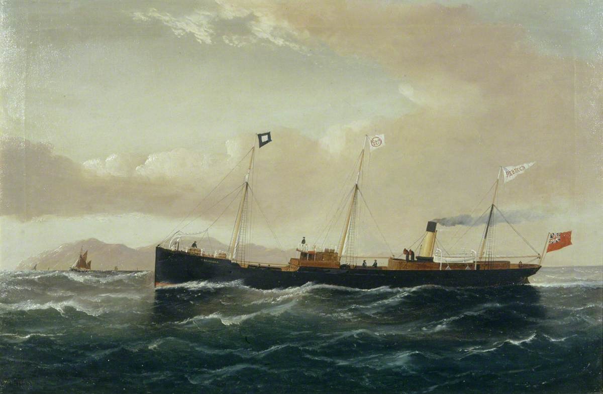 The Cargo Steamer 'Rebecca'
