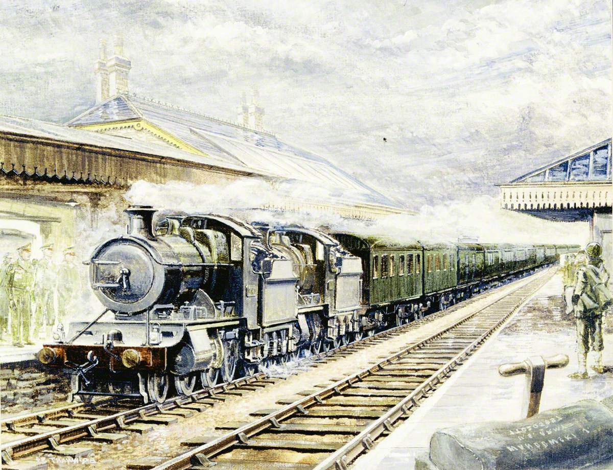 Special GWR Train Used by Eisenhower, June 1944