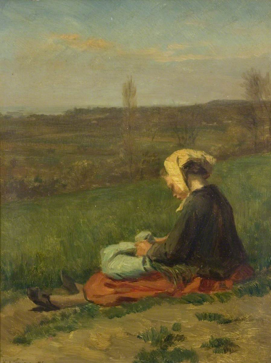 A Child in a Field