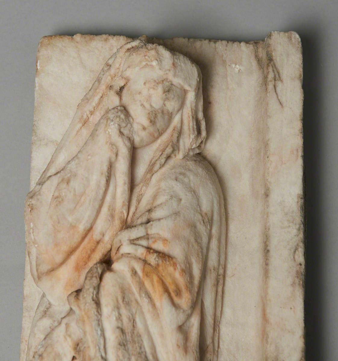 Female Figure from a Crucifixion
