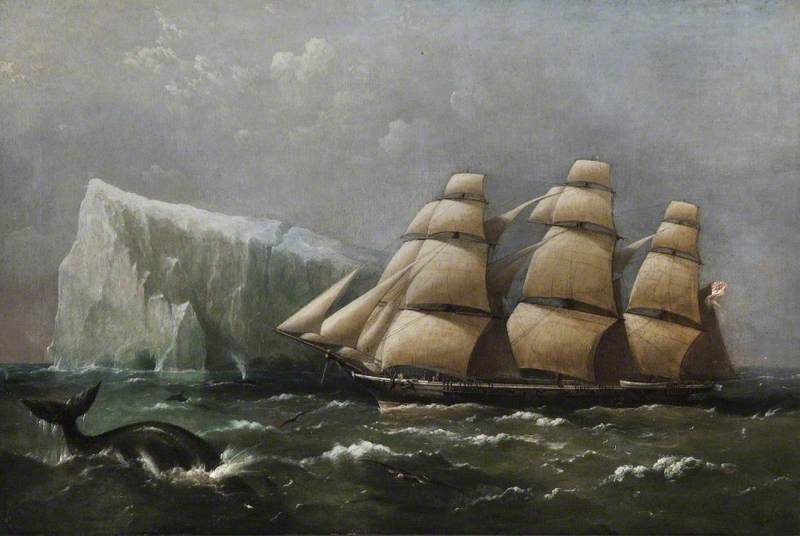 'HMS Scout' Passing an Iceberg, 4 March 1875 (Captain, Ralph P. Cator)