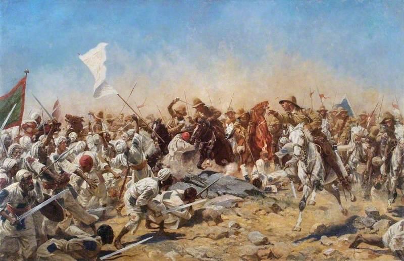 The 21st Lancers at Omdurman, Sudan