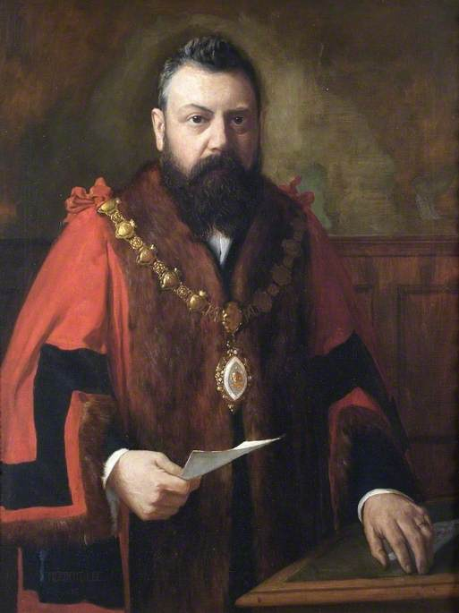 Alderman Edwin Hewitt, Mayor of Maidenhead (1899)