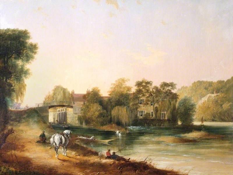 Boulter's Lock and Ray Mill House, Maidenhead, Berkshire