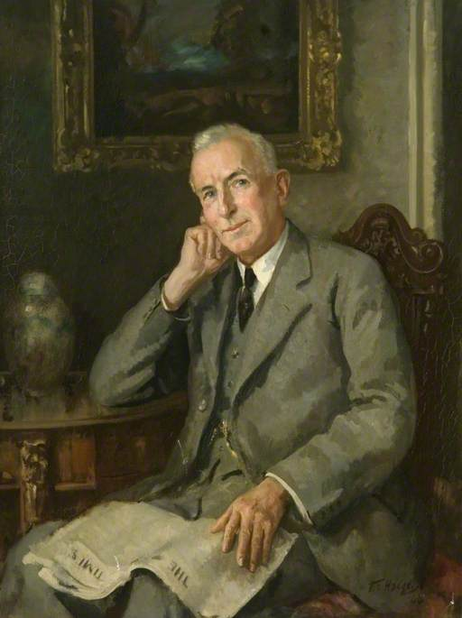 John Arnold Whitchurch, JP, Chairman of the Board of Management of Bedford County Hospital (1912–1948)