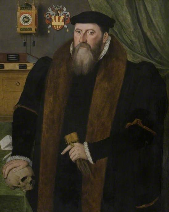 John Isham (1525–1595), Warden of the Mercers' Company