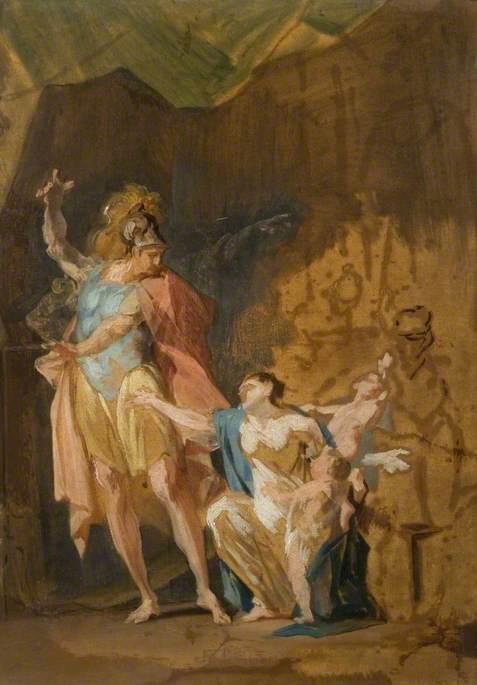 Jason Rejecting Medea