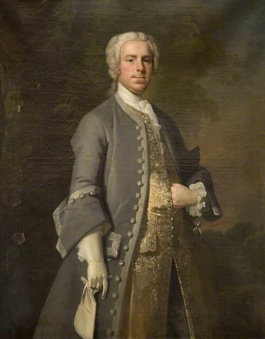 John Harvey Thursby (1709–1764), of Abington Abbey