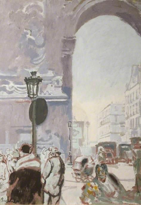 The Third Republic, View of Porte St-Denis, Paris, France