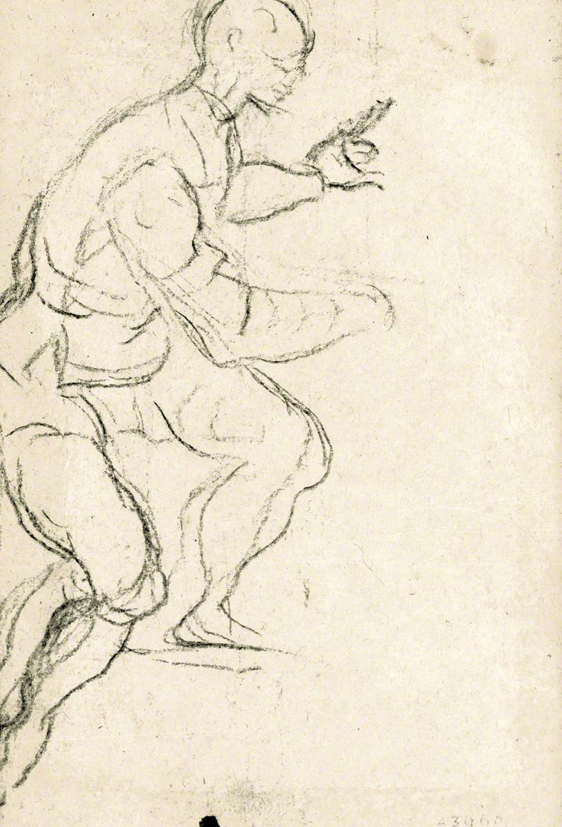 Seated Man Seen from the Side