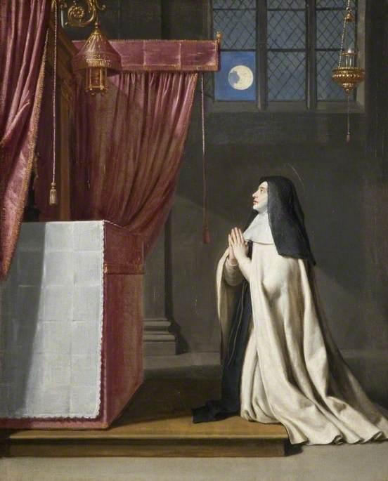 The Vision of Saint Juliana of Mont Cornillon