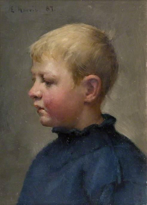 Head of a Fisher Boy