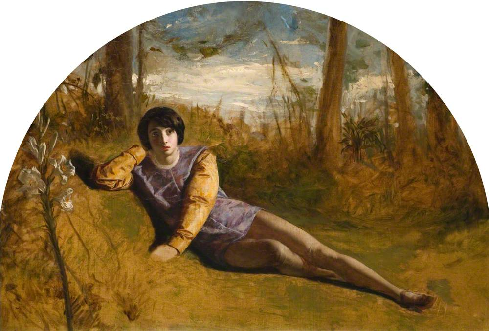 The Young Poet (Portrait of the Artist)