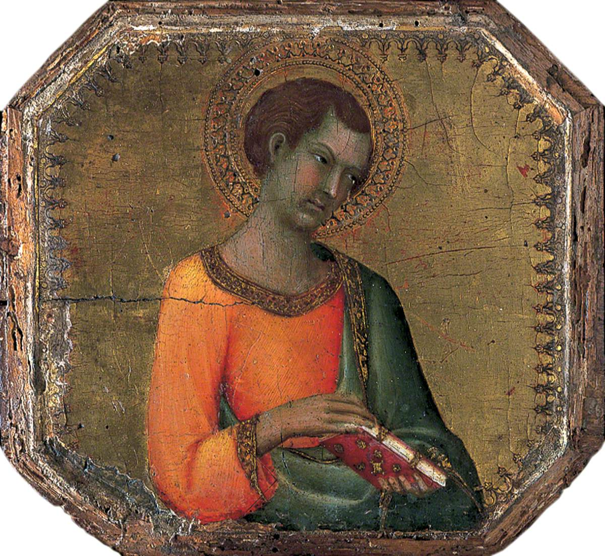 A Saint Holding a Book