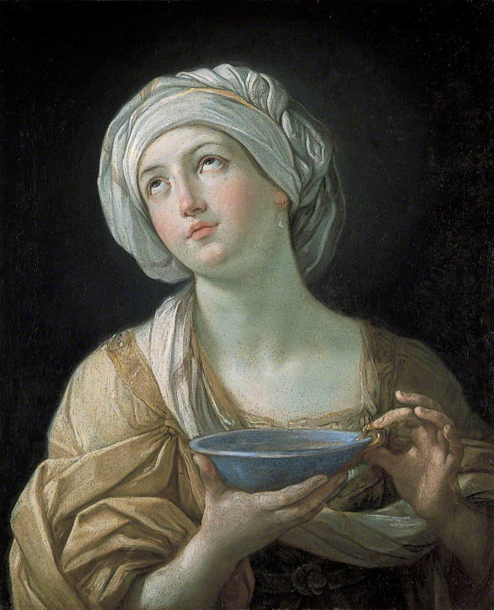 Woman with a Bowl