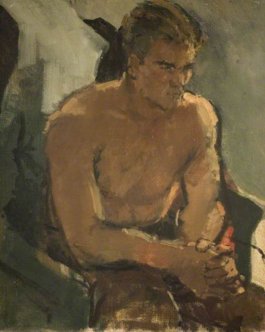 Boxer Resting, Don Cockell