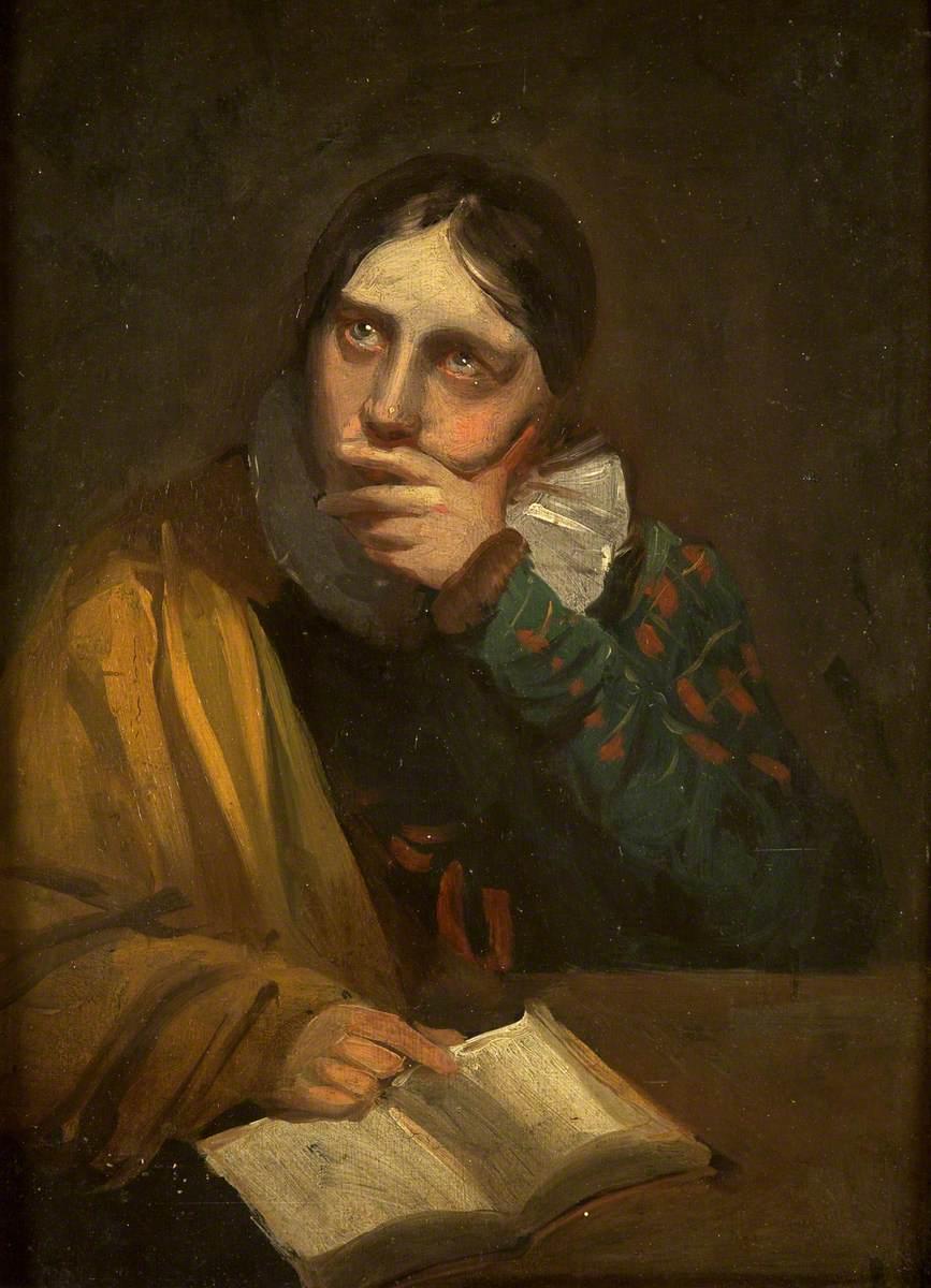 Miss Martha Bird, the Artist's Daughter
