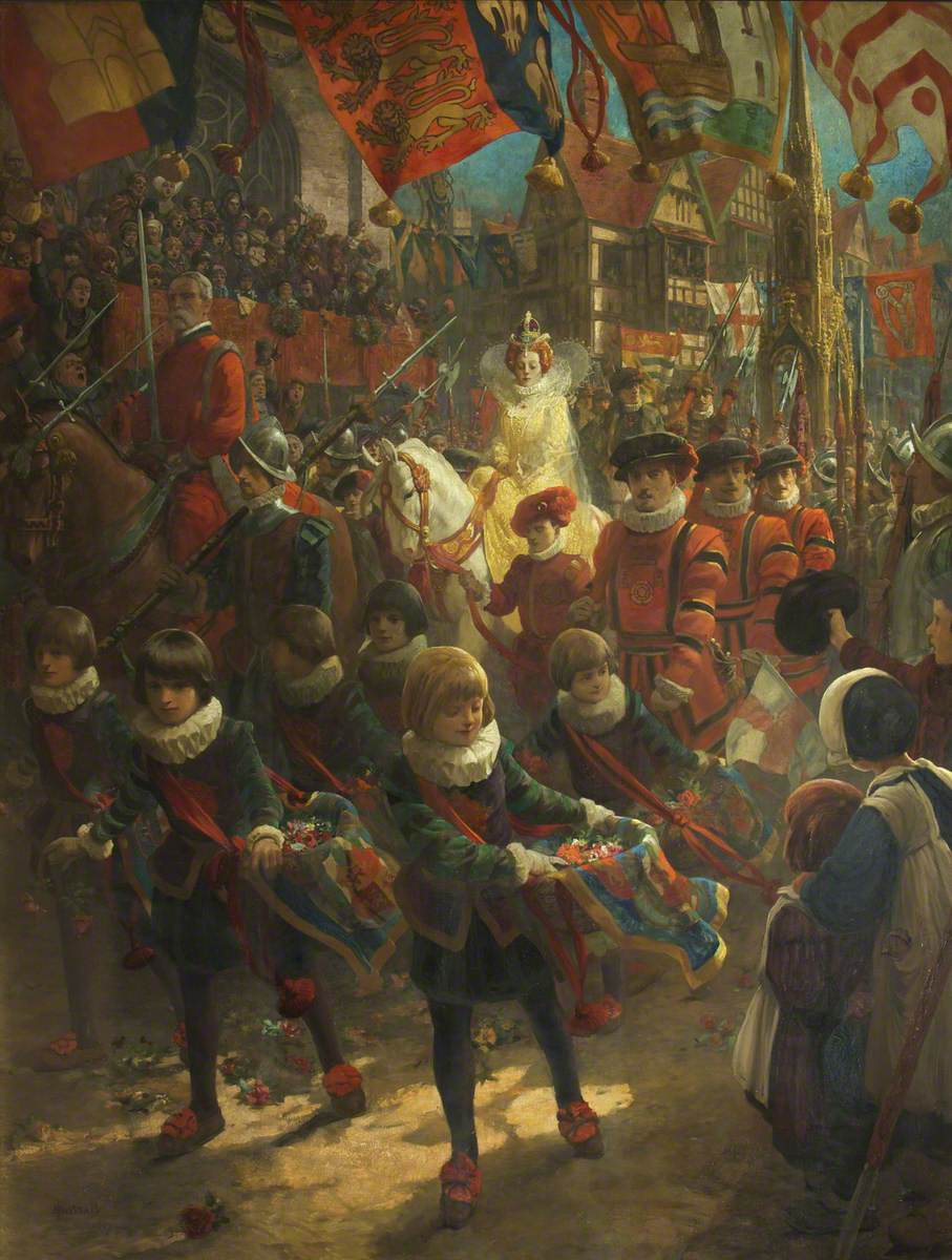 The State Entry of Queen Elizabeth into Bristol, 14 August 1574