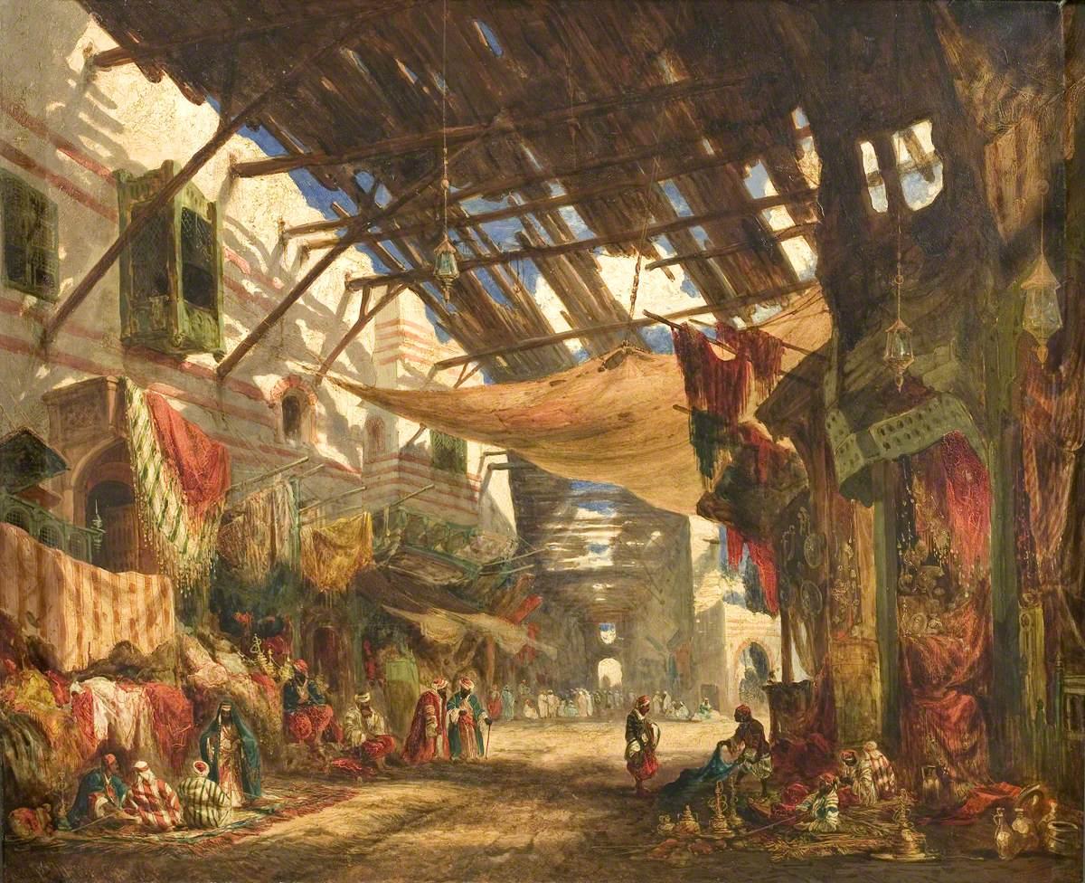The Carpet Bazaar, Cairo