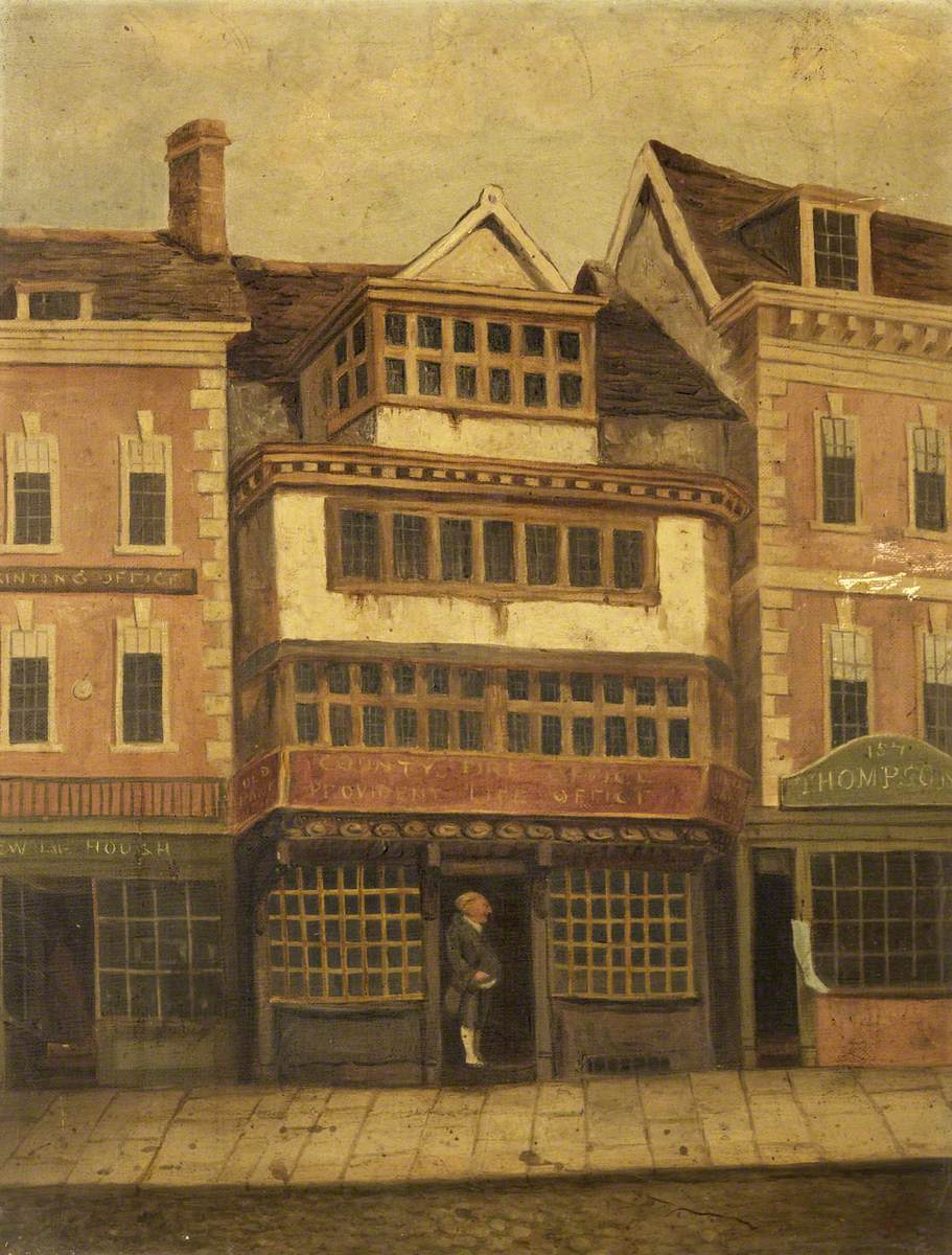 The Old Bank, Gloucester and Jemmy Wood