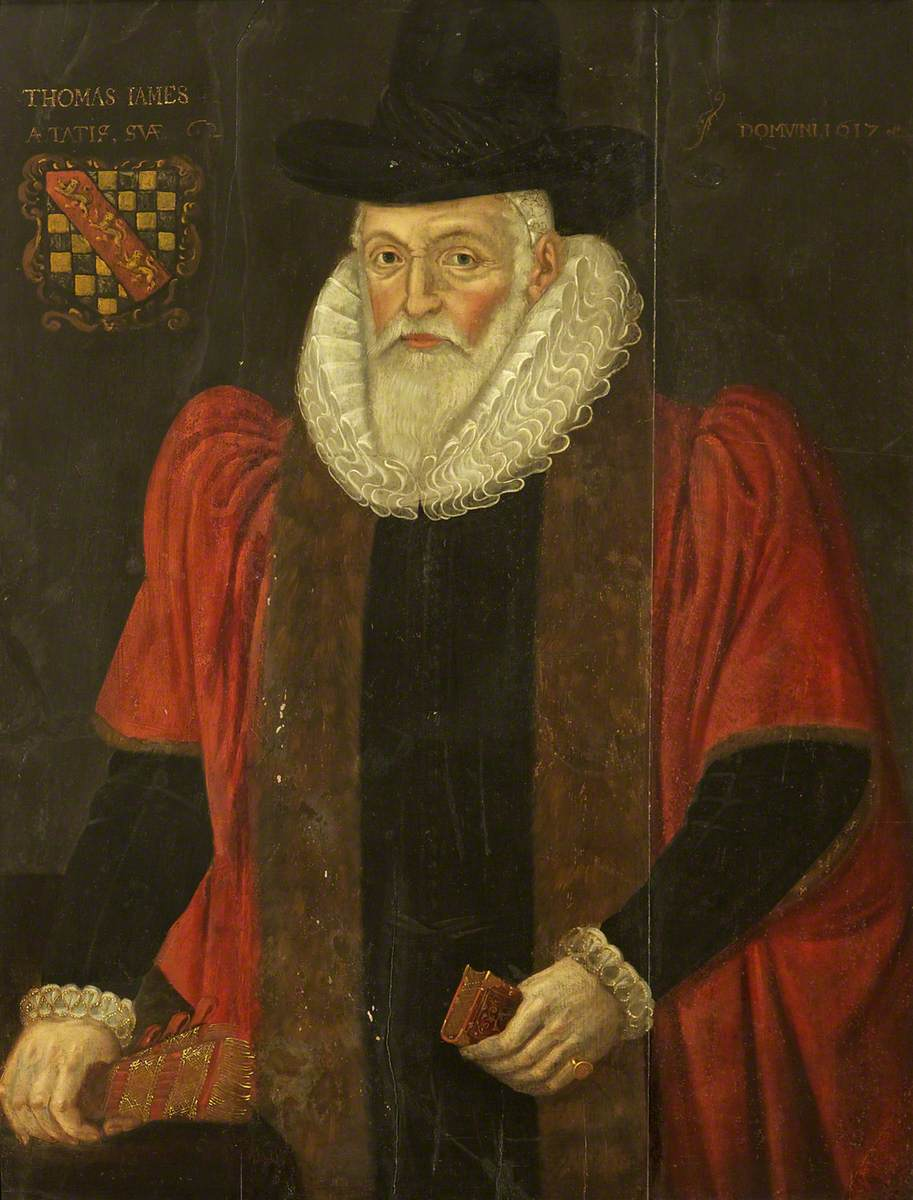 Alderman Thomas James, Master (1607 & 1615)