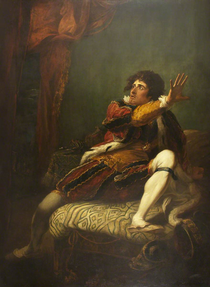John Philip Kemble as Richard III in 'Richard III'