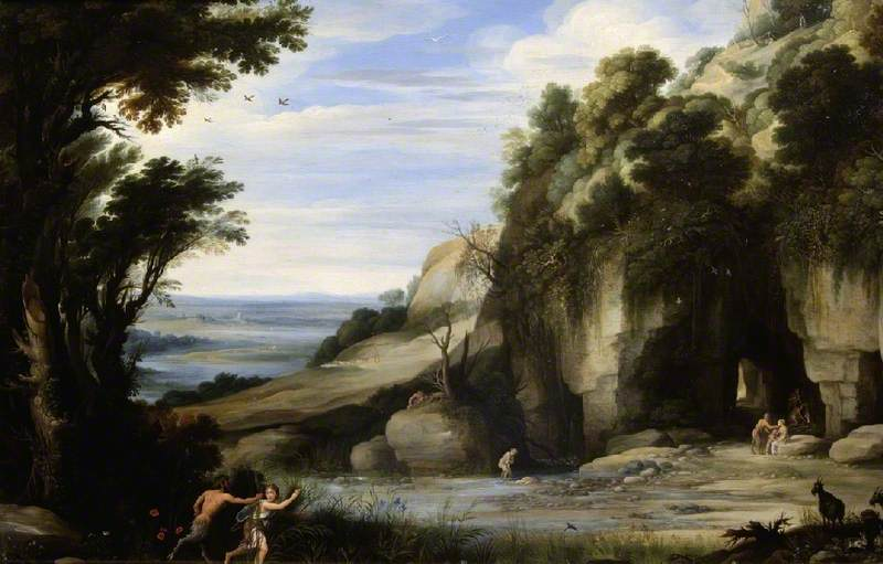 Landscape with Pan and Syrinx