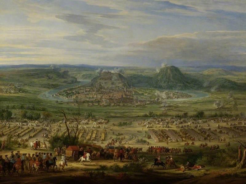Siege of Besançon by Condé in 1674