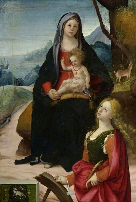 The Virgin and Child with Saint Catherine
