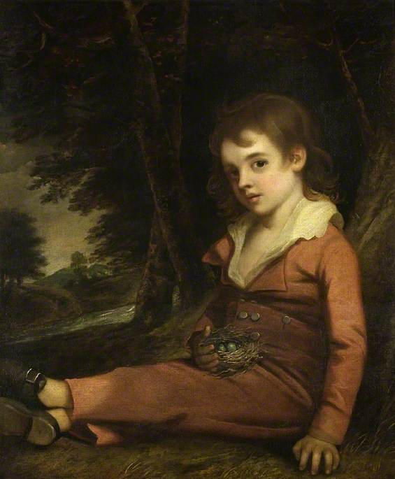 Boy with a Bird's Nest