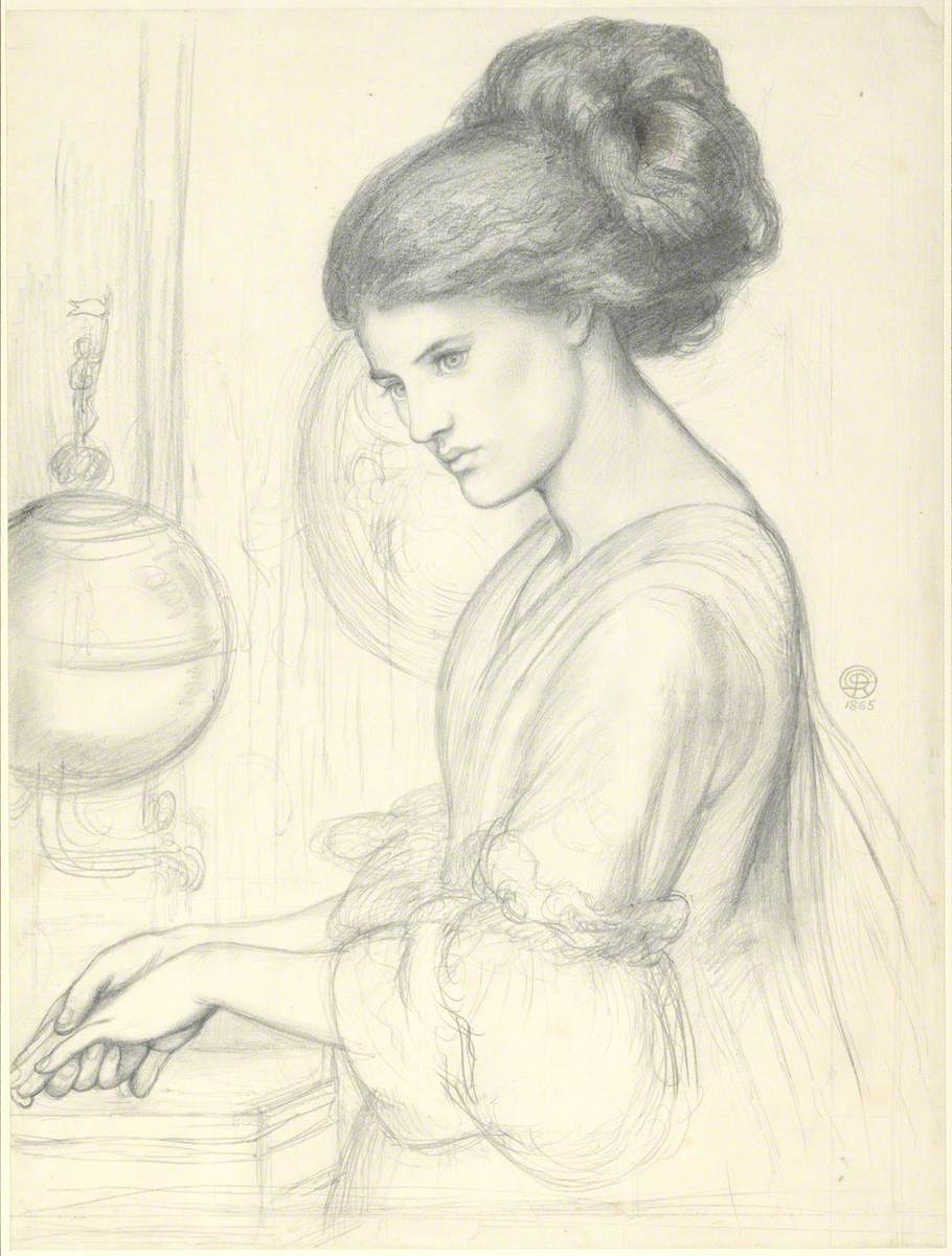 Study for 'Washing Hands'