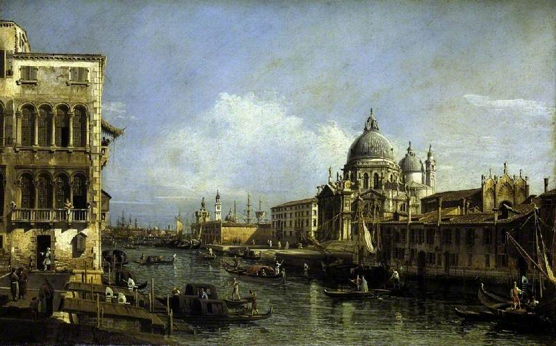 Entrance to the Grand Canal, Venice