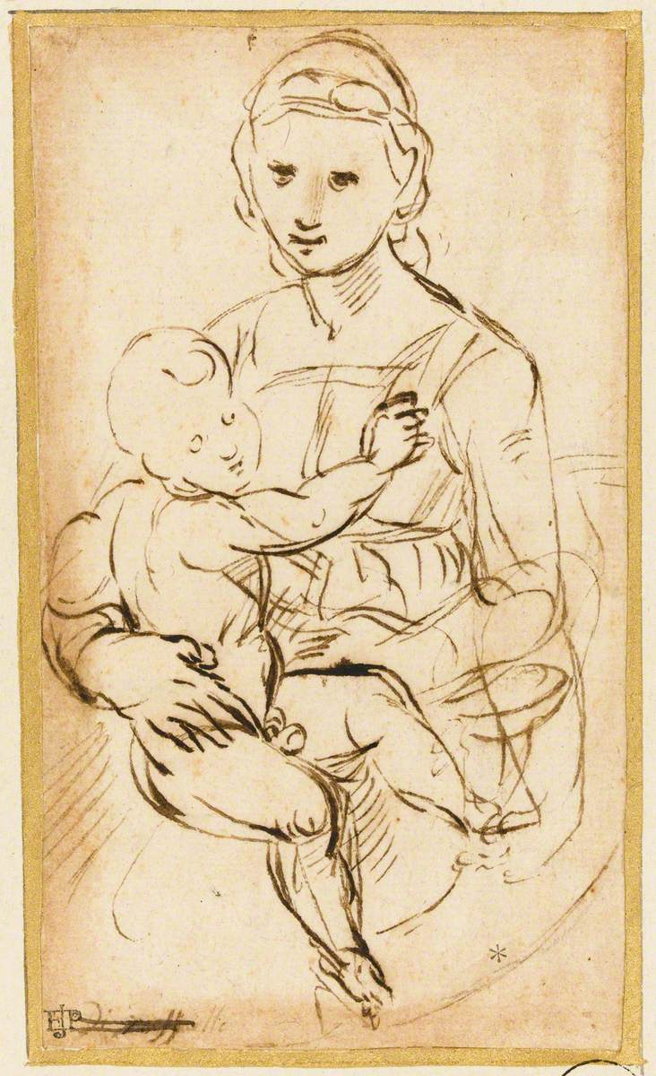 Virgin and Child in a Tondo