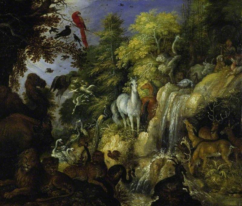 Orpheus with Beasts and Birds