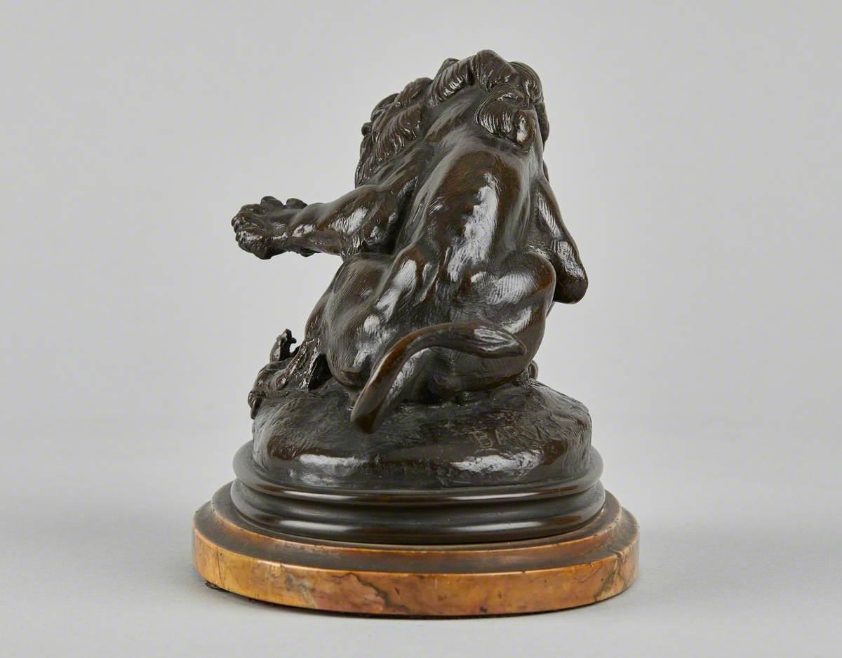 Lion au serpent No. 3 (esquisse)