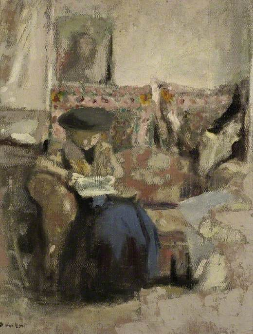 Seated Woman, Reading
