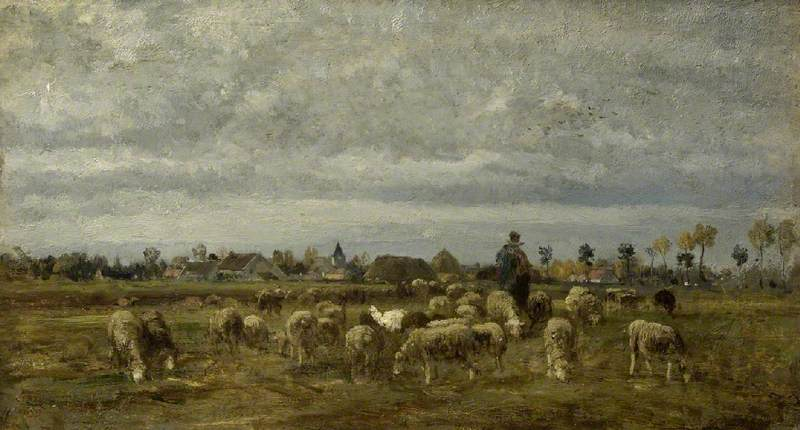 Shepherd and His Flock