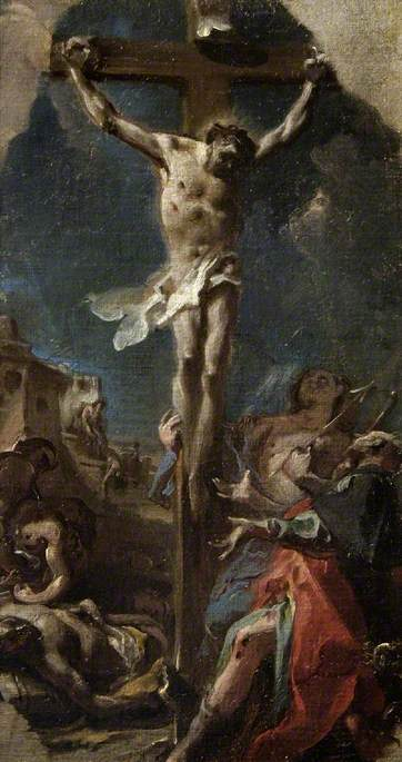 The Crucifixion with Saint Roch and Saint Sebastian